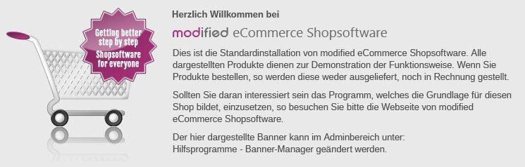 modified eCommerce Shopsoftware