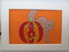 Stickbild Halloween