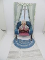 Aufsteller-Grußkarte Oma