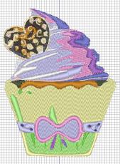 Stickdatei- Muffin