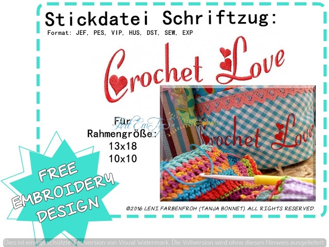 Crochet Love groß