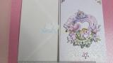 Hochzeitskarte mit Herz-3-D-Motiv