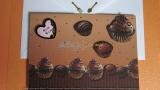 Einladungskarte Muffins