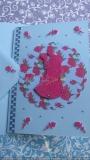 Hochzeitskarte hellblau