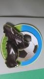 3-D- Fussball-Motiv