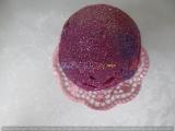 3-D-Osterglitzerei rosa mit Elfe