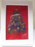 Stickbild Weihnachtsbaum
