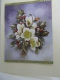 Winter-Grußkarte Christrose