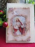 Weihnachtskarte mit 3-D-Motiv- Jesus